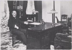 Suomen ensimmäinen presidentti Kaarlo Juho Ståhlberg.