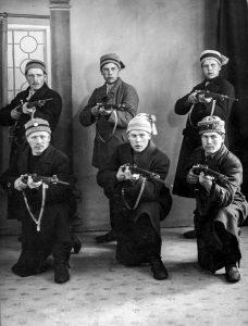 Punaisen armeijan miehiä.