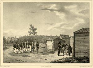 Aleksanteri I matkalla Kainuussa vuonna 1819.