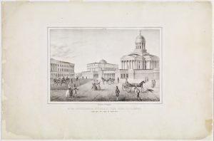 Senaatintori vuonna 1838.
