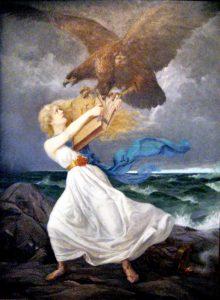 """""""Hyökkäys"""", Eetu Isto 1899."""