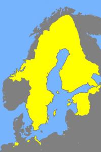 Ruotsi vuonna 1658