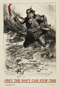 Yhdysvalloissa vuonna 1917 julkaistu juliste, jonka avulla haluttiin saada miehiä liittymään armeijaan.